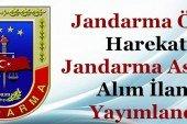 Jandarma Özel Harekat ve Jandarma Emniyet Asayiş Alımı