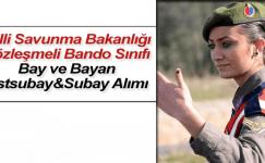 Milli Savunma Bakanlığı Bay Bayan Subay Astsubay Alımı