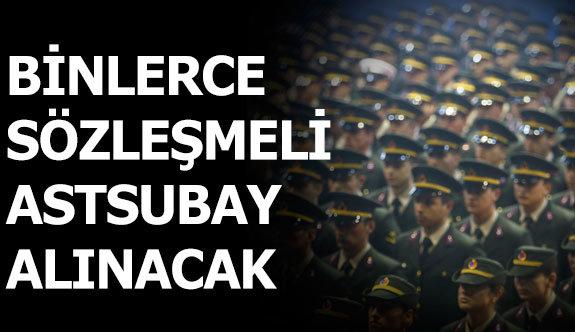 Jandarma Genel Komutanlığı 2650 Sözleşmeli Astsubay Alacak!