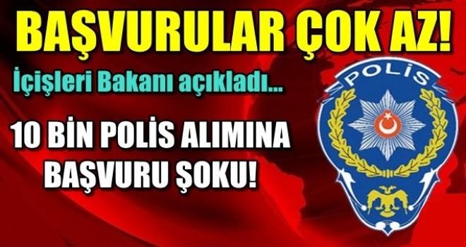 Bakan Soylu Açıkladı: 10 Bin Polis Alımına Başvurular Çok Az.