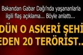 """Milli Savunma Bakanı Fikri Işık'tan """"Gabar' açıklaması"""
