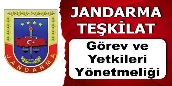 Jandarma , Görev Ve Yetkileri Kanunu