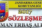 2017 Yılı Jandarma Uzman Erbaş Alımları Devam Ediyor !