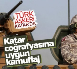 Türk Askerlerinin Katar'dan Yeni Görüntüleri