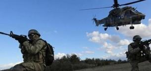 Şırnak Kato Dağı'nda PKK operasyonu sürüyor
