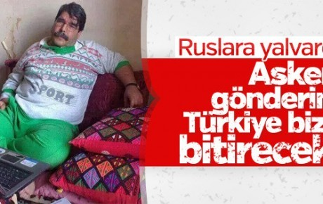 Teröristbaşı Salih Müslim Rusya'dan yardım bekliyor