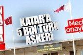 Türkiye, Katar'a asker göndermeyi kabul etti