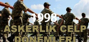 1998 Doğumluların Askerlik İşlemleri