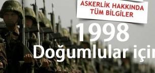 98 Doğumluların Askerlik İşlemleri Ne Zaman Başlıyor ?
