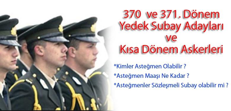 371. Dönem Yedek Subay ve Kısa Dönem Askerler