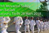 Deniz Kuvvetleri Komutanlığı Muvazzaf Subay Alımı Başladı