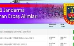 2018 jandarma uzman erbaş alımı | Dikkat Başvurular Başladı