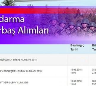2018 jandarma uzman erbaş alımı | 25 Bin Uzman Alınacak | Güncel