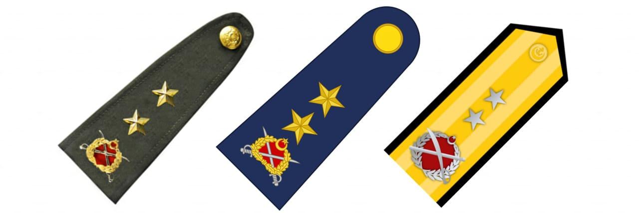 Tümgeneral Rütbesi - Tümamiral Rütbesi