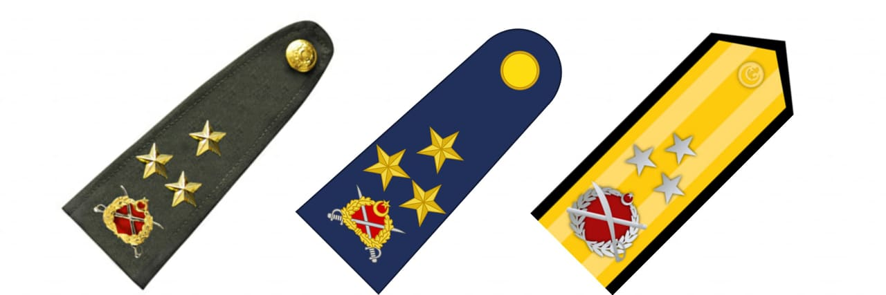 Korgeneral Rütbesi - Koramiral Rütbesi
